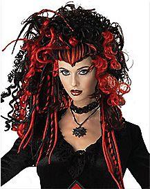 Nightmare Black Spider Wig