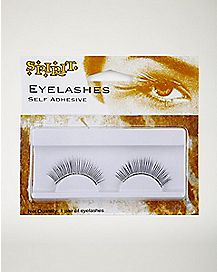 Black Rhinestone False Eyelashes