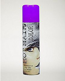 Glitter Purple Hairspray