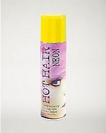 Flourescent Yellow Hairspray