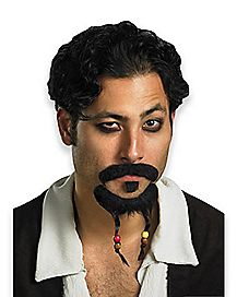Goatee and Moustache - Pirates of the Caribbean