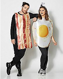 Adult Bacon and Egg Couples Costume