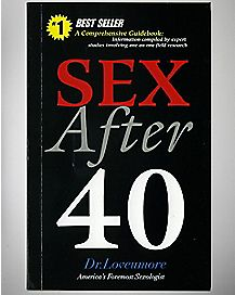 Sex After 40 Blank Book
