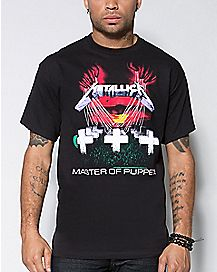 Master of Puppets Metallica T shirt