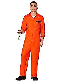 Adult Department of Corrections Prisoner Costume