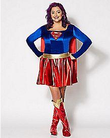 Adult DC Comics Supergirl Plus Size Costume