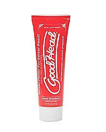 Good Head Oral Delight Strawberry Gel - 4 oz.