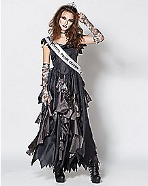 Adult Prom Queen Zombie Costume