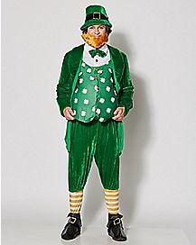 Adult Leprechaun Costume- Deluxe