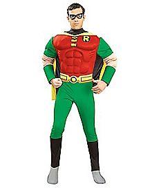 Adult Muscle Chest Robin Cotume - Batman
