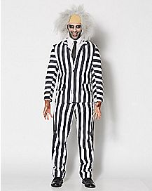 Adult Beetlejuice Grand Heritage Deluxe Costume