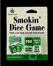 Stoneware Smokin Dice Game
