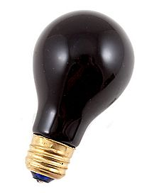 Black Bulb Light 75 Watt