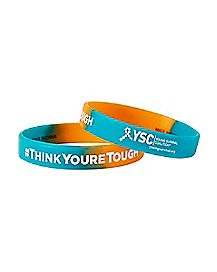 YSC 'SURVIVOR STRENGTH' RUBBER BRACELET
