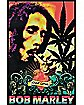 Bob Marley 'One Love' Black Light Poster