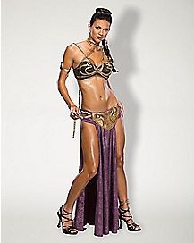 Adult Sultry Slave Princess Leia Costume - Star Wars