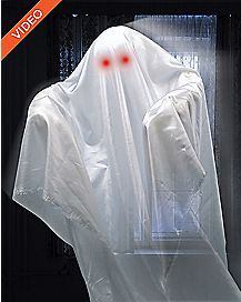 23.5 Inch Hovering Ghost Animatronics - Decorations