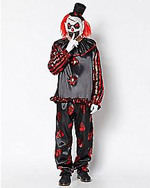 Adult Red Carver the Clown Costume