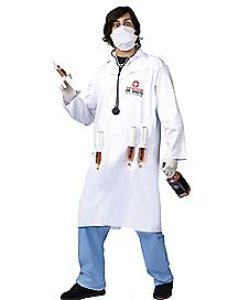 Adult Dr. Shots Doctor Costume