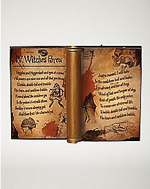 Animated Dark Magic Spell Book - Decorations