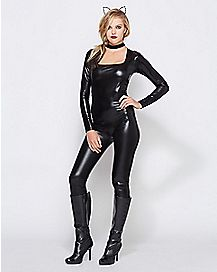 Adult Keyhole Catsuit Costume