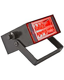 Flameless Red LED Strobe Light