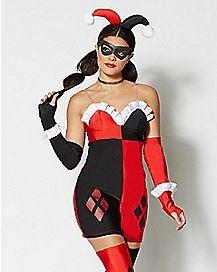 Adult Harley Quinn Costume - Batman