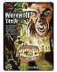 Horror Werewolf Teeth