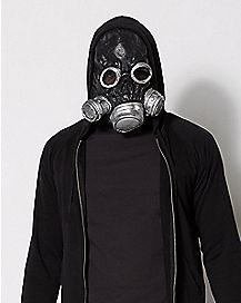 Black Bio Zombie Gas Mask