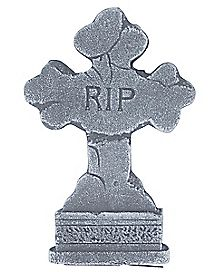 15 Inch Cross Tombstone - Decorations