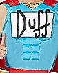 Adult Muscle Duffman Costume - The Simpsons