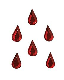 Blood Drop Vampiress Jewels