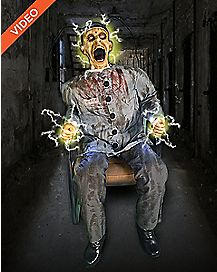 4.5 Ft Electrocuted Prisoner Animatronics - Decorations