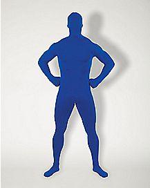 Adult Super Skins® Blue Zentai Skin Suit Costume