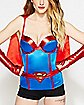 Caped Supergirl DC Comics Corset