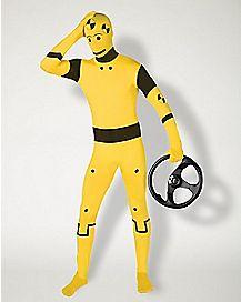 Adult Super Skin® Crash Test Dummy Skin Suit Costume