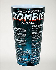 Zombie Attack Survival List Cup