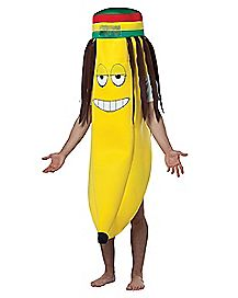 Adult Dreadlock Banana Costume