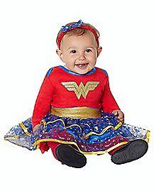 Baby Caped Wonder Woman Costume - DC Comics