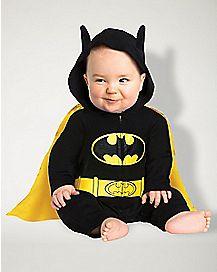 Baby One Piece Caped Batman Costume - DC Comics