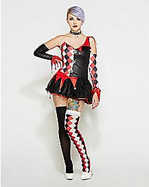 Adult Harlequin Costume