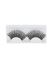 Black Metallic False Eyelashes