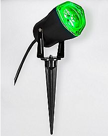 Green LED Strobe Spotlight