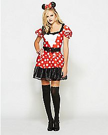 Adult Glam Minnie Mouse Costume - Disney
