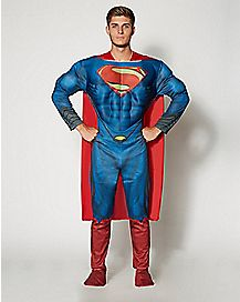 Adult Superman Costume Deluxe- Superman Man of Steel
