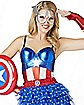 Captain America Corset - Captain America