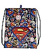Superman Cinch Bag - DC Comics