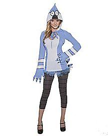 Adult Mordecai Costume - Regular Show