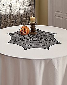 Spider Web Lace Round Topper