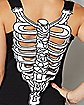 Cut Out Skeleton Tank Top